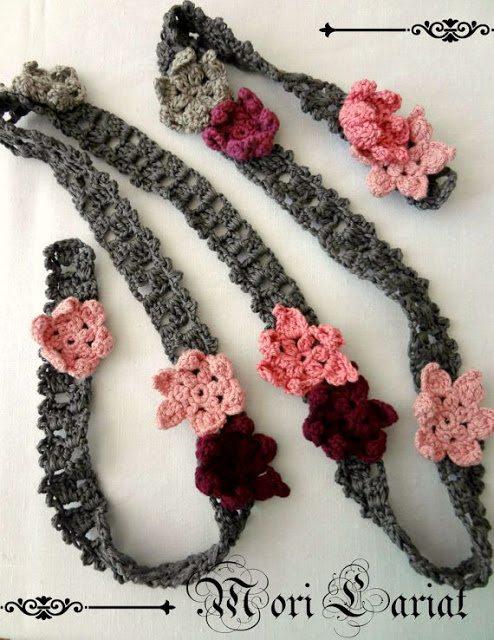 mori lariat crochet pattern