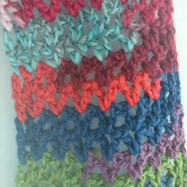 mrsdaftspaniel crochet scarf