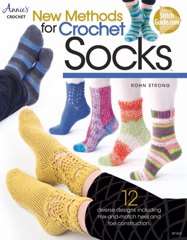new method for crochet socks book