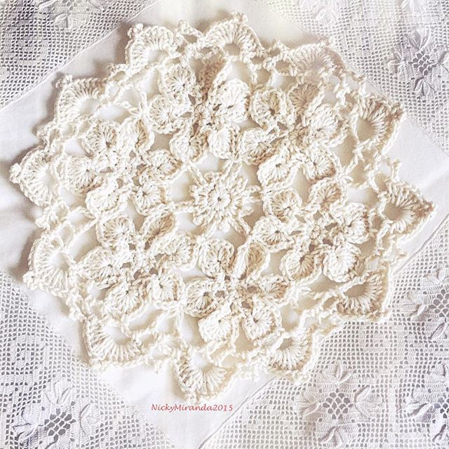 nickymirandacrochet crochet doily