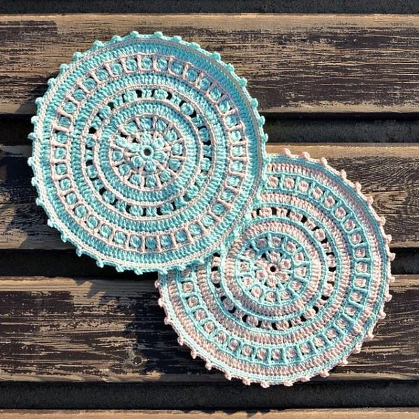 north sea crochet mandala pattern