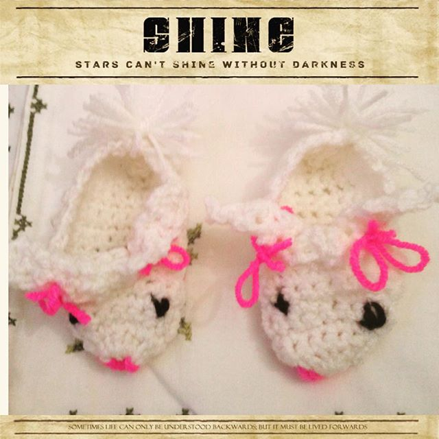 nuransabry crochet baby shoes