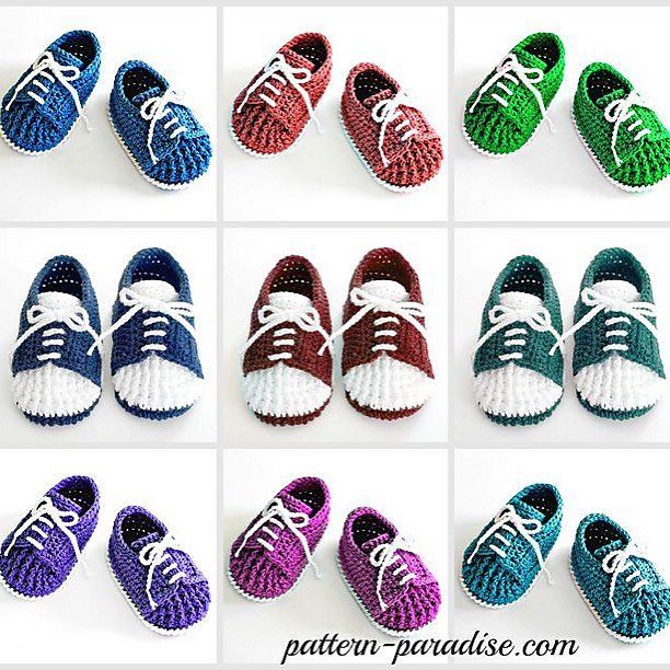 patternparadise crochet shoes