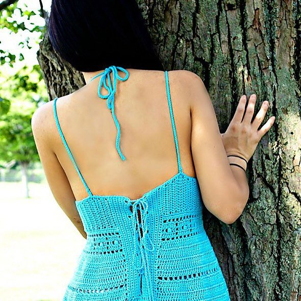 patternparadise crochet sundress
