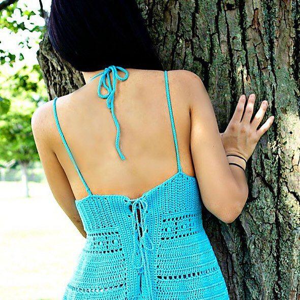 patternparadise crochet sundress