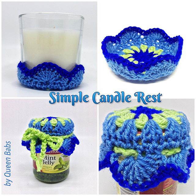queen_babs crochet candle pattern
