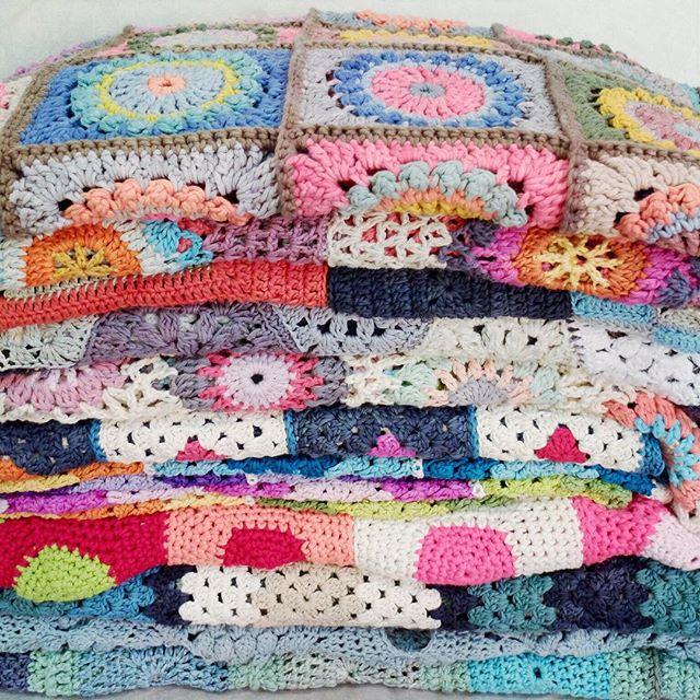 rawrustic crochet blankets galore