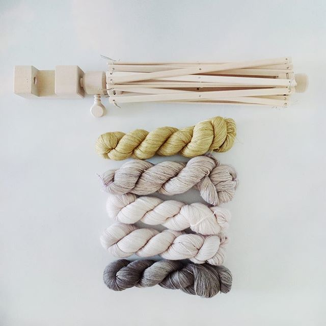 rawrustic yarn swift