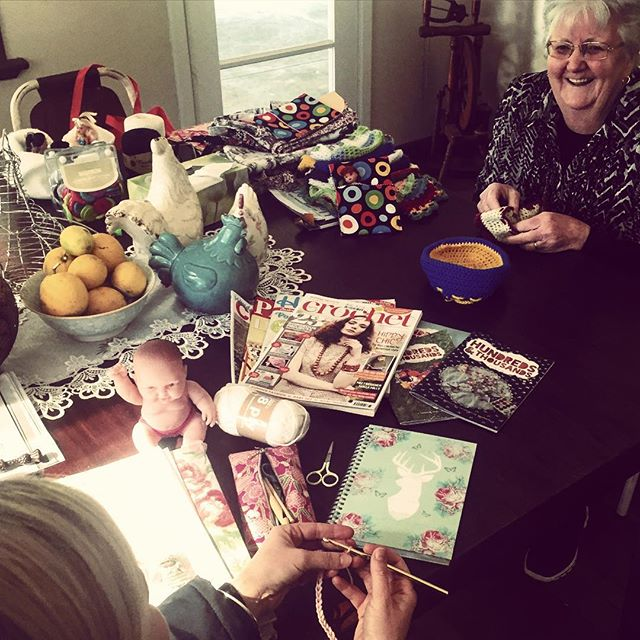 rubyjaneslane crafting together
