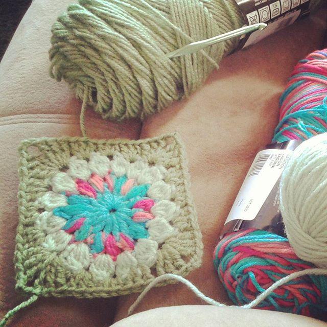 sabrinamc7 crochet granny square
