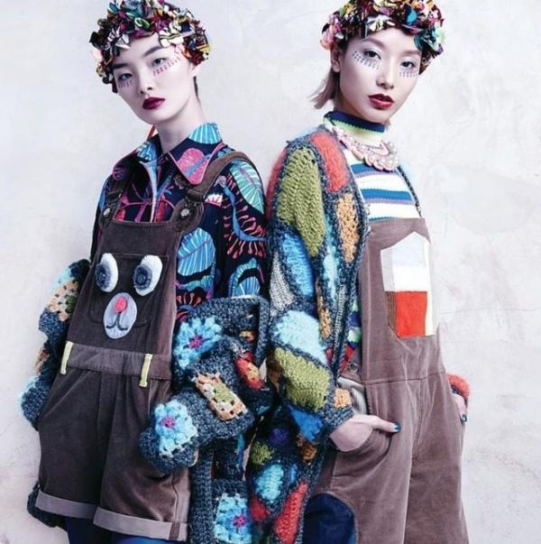 crochet fashion designer celiab