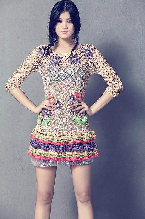 siamese dreaming crochet dress by celiab
