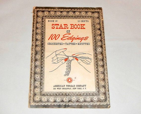 star book of 100 edgings 1942