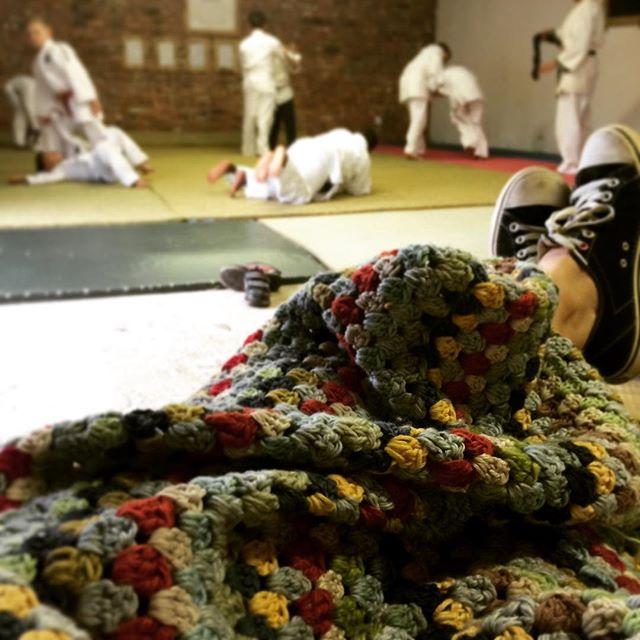 stelcrochet granny stripe crochet blanket