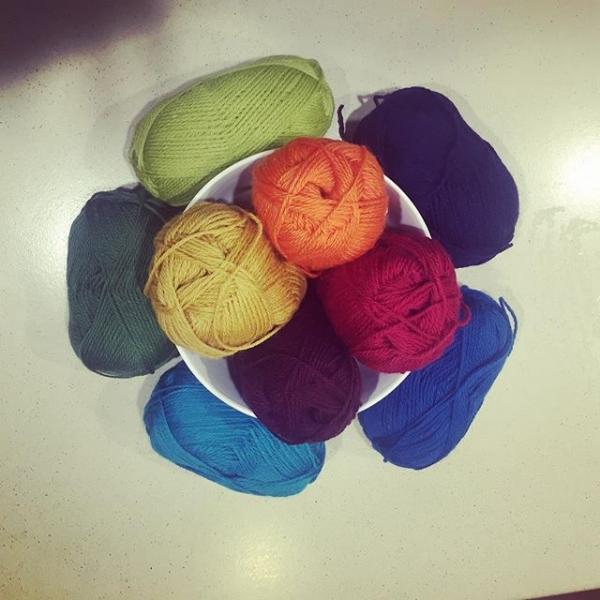 sunnylittlerainbow wool yarn