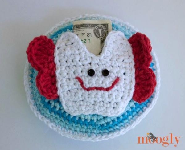 tooth fairy crochet pillow pattern