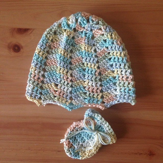verdevercem crochet set for baby