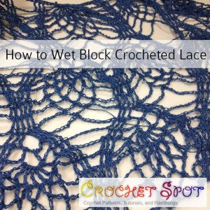 wet block crochet