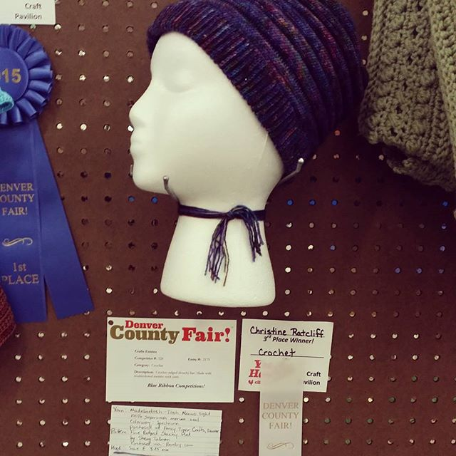 xtinerat ribbon crochet at the fair