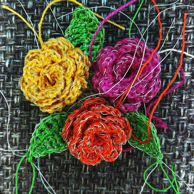 yarnadventure crochet flowers