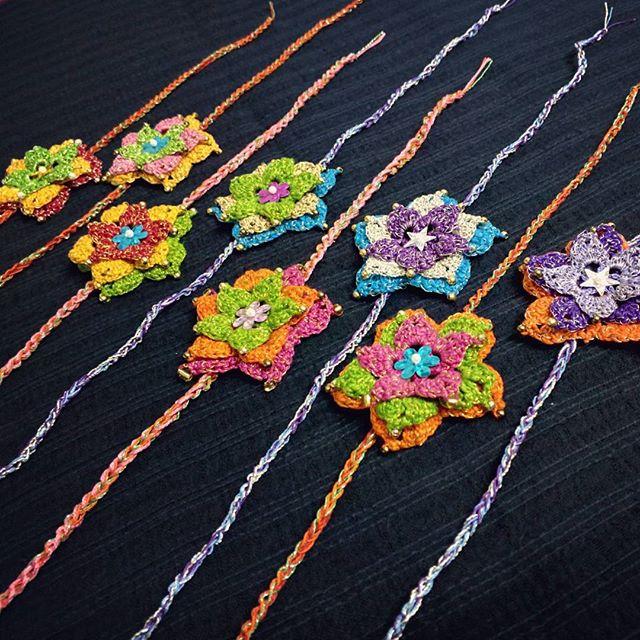 yarnadventure crochet indianfestival flowers