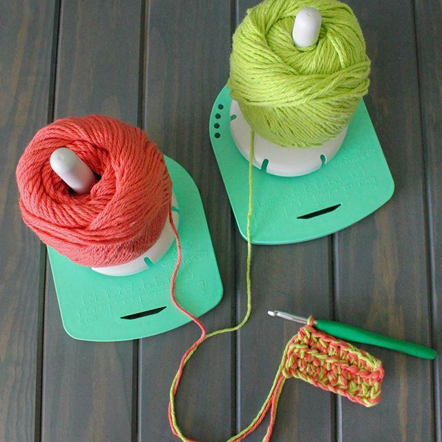 yarnvalet double strand crochet
