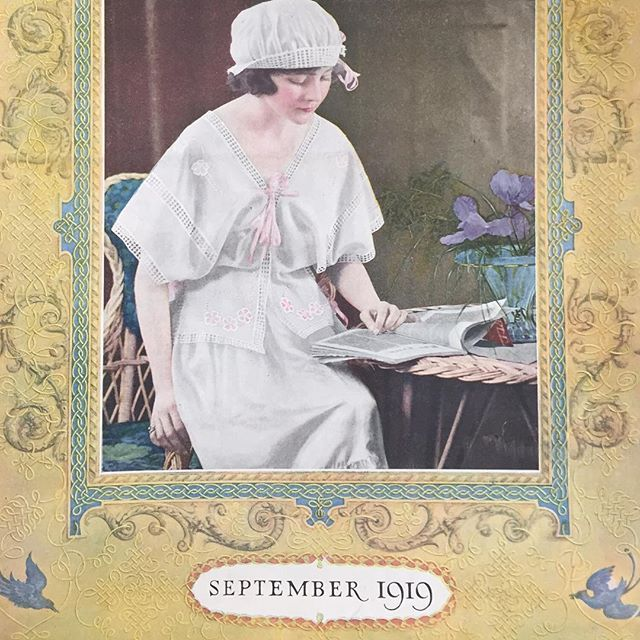 1919 vintage crochet magazine