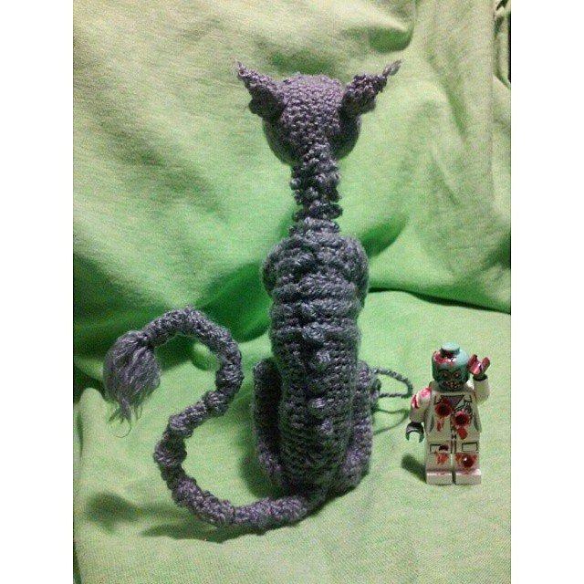 American McGee's Cheshire Cat by kim.sofia1 crochet