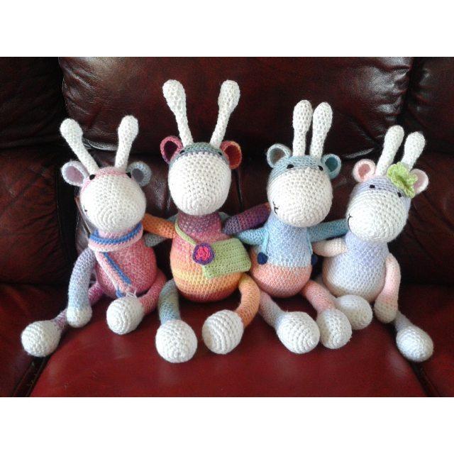 ailishsweetpea crochet giraffes