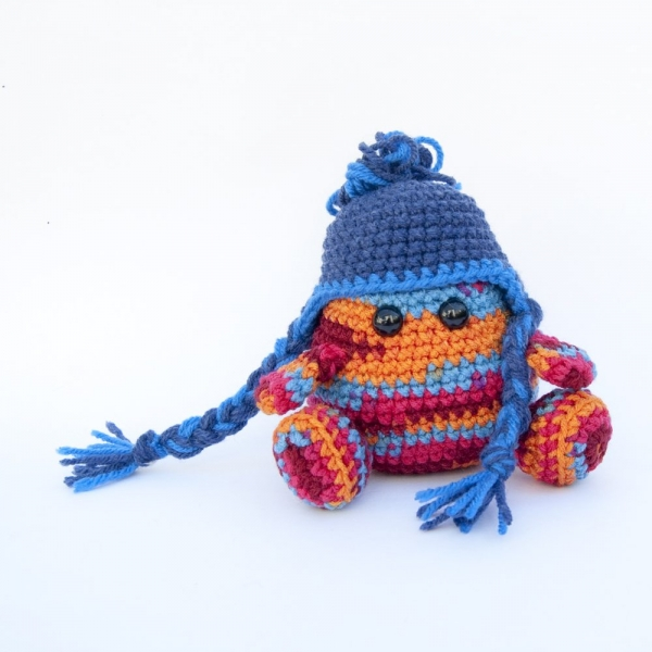 amigurumi earflap hat crochet pattern