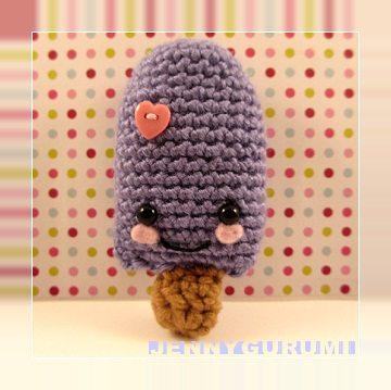 amigurumi popsicle free crochet pattern