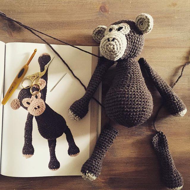 amimami10 crochet monkey