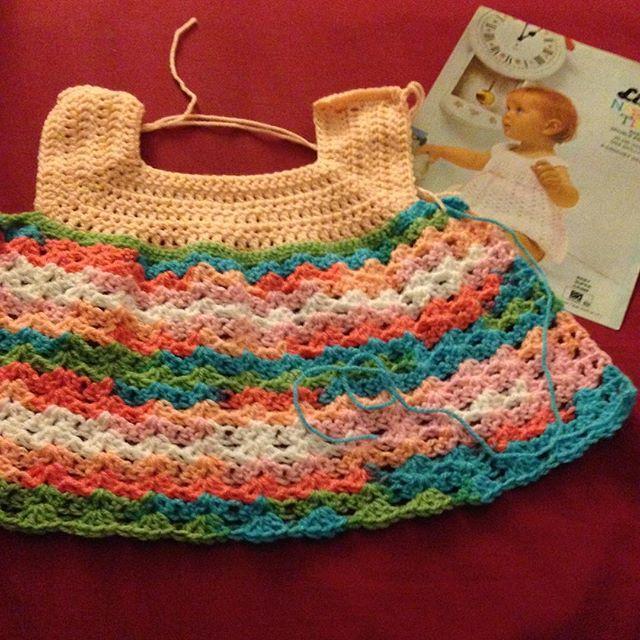 amysvintagehandknits crochet dress