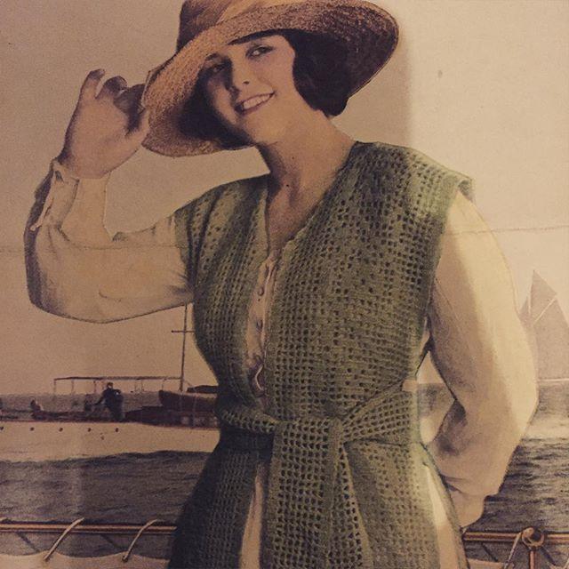 august 1919 vintage crochet magazine