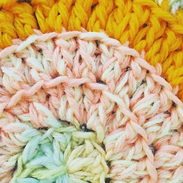 back loop only crochet mandala vercillo