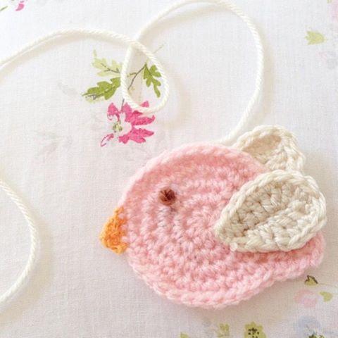 bathcrochetretreat crochet bird