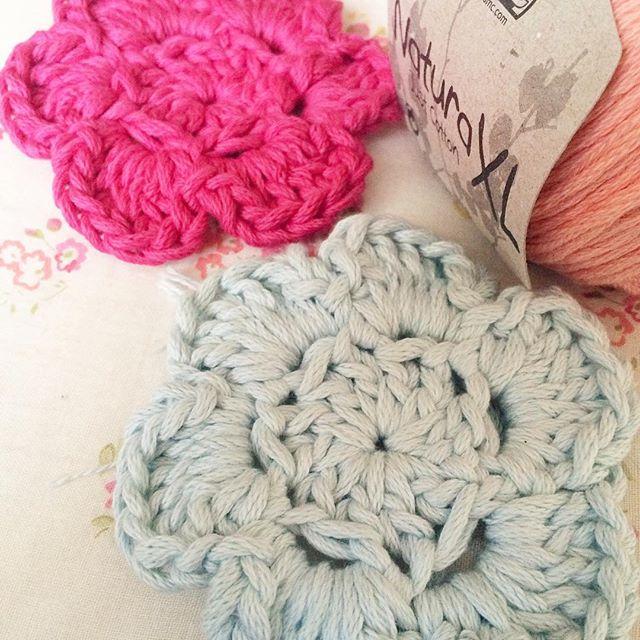 bathcrochetretreat crochet chunky flowers