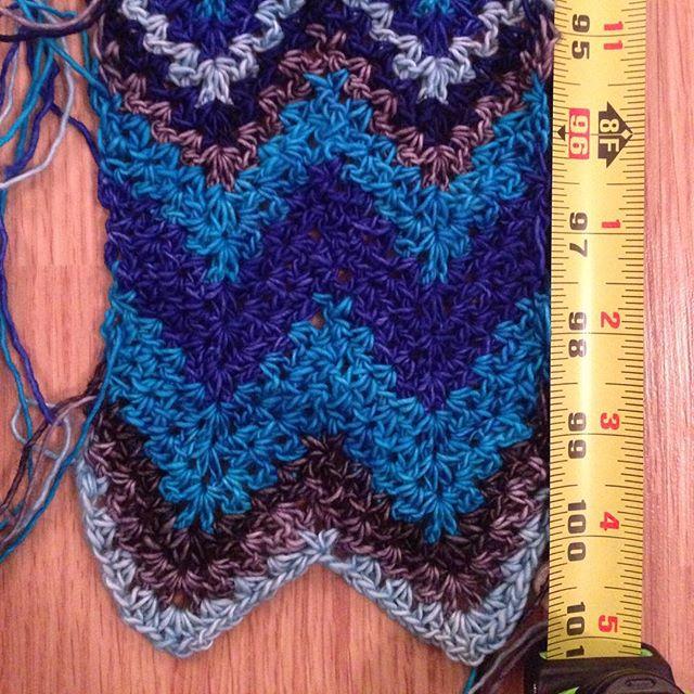 candicedunlapmiller crochet growing scarf