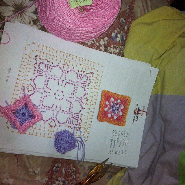 cheezmac101 crochet cotton project