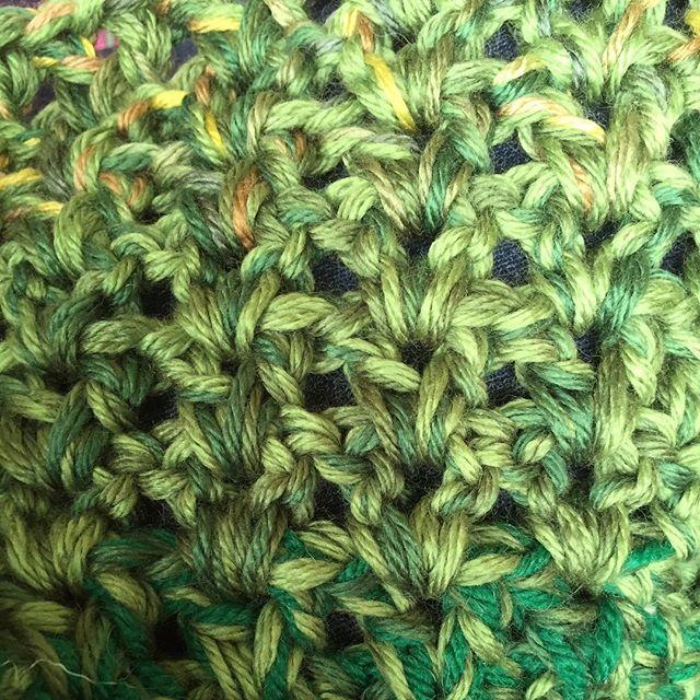 chunky vstitch crochet blanket
