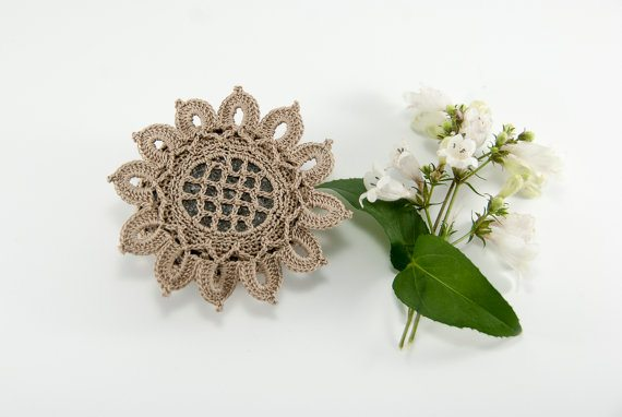 cotton crochet rock
