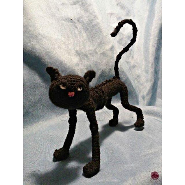 crochet black kat by kim.sofia1