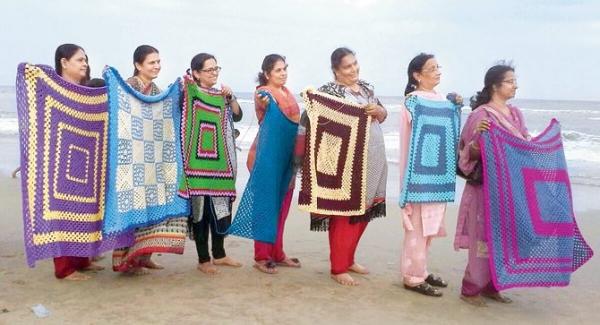 crochet blankets india