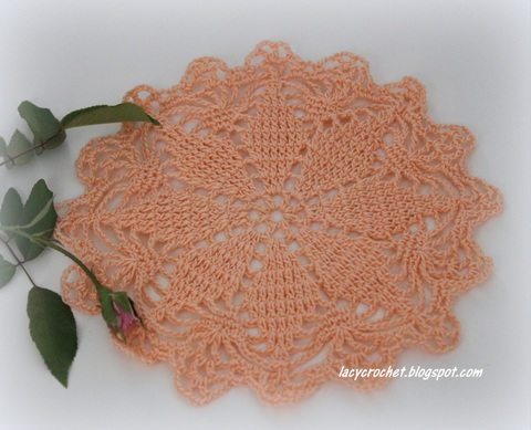 Crochet Patterns Vintage : crochet doily pattern (vintage)