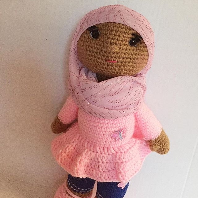 crochet doll by offdhookcreations
