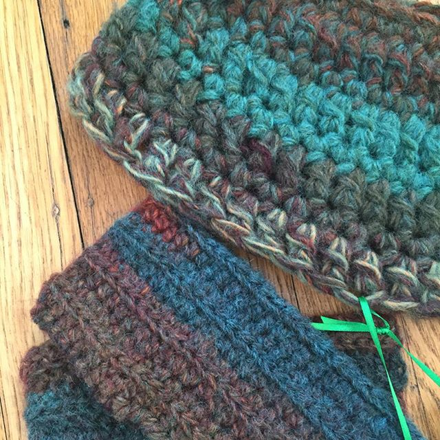 crochet gift by flo