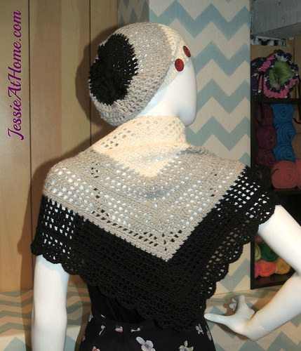crochet hat and shawl pattern