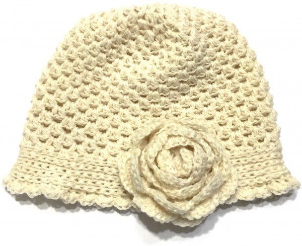 Crochet X Pattern : Free crochet flower hat pattern from Not Your Average Crochet; a great ...