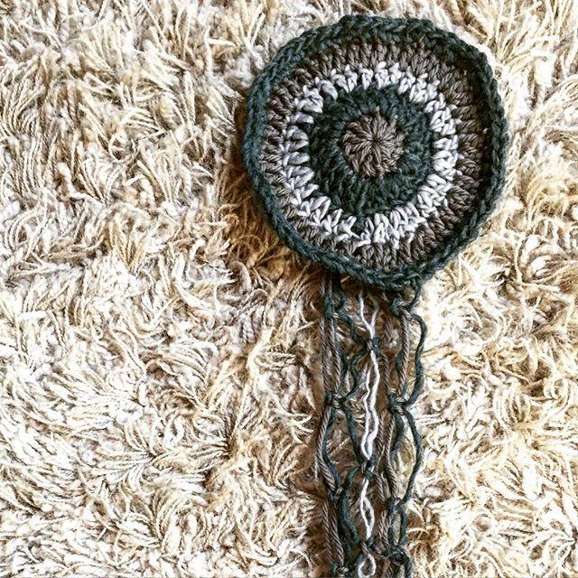 crochet macrame mandala