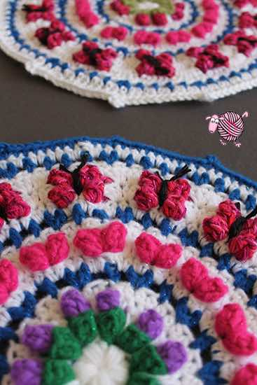 crochet mandala for marinke free pattern